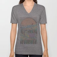 Deer Forest Unisex V-Neck