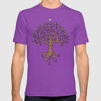Shirley's Tree Mens Fitted Tee Ultraviolet SMALL