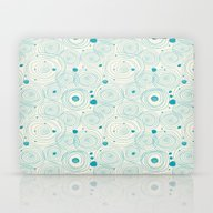 Blue Scribbles 04 Laptop & iPad Skin