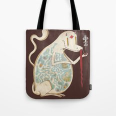 In the Belly of the Beast. Tote Bag