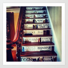 Unique Staircase Art Print