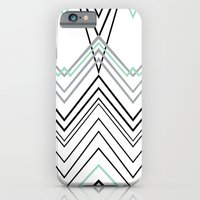 iPhone & iPod Case featuring Mint Chevy  by Project M