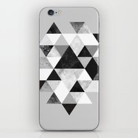 Graphic 202 Black and White iPhone & iPod Skin