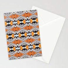 Orange and Neon Stationery Cards