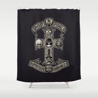 APPETITE FOR DARKNESS Shower Curtain