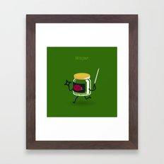A&A - Ninjar. Framed Art Print
