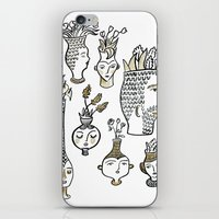 Clay Faces iPhone & iPod Skin