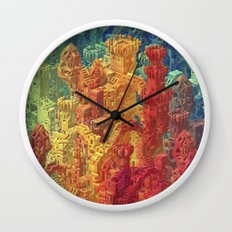 Castle Block Wall Clock