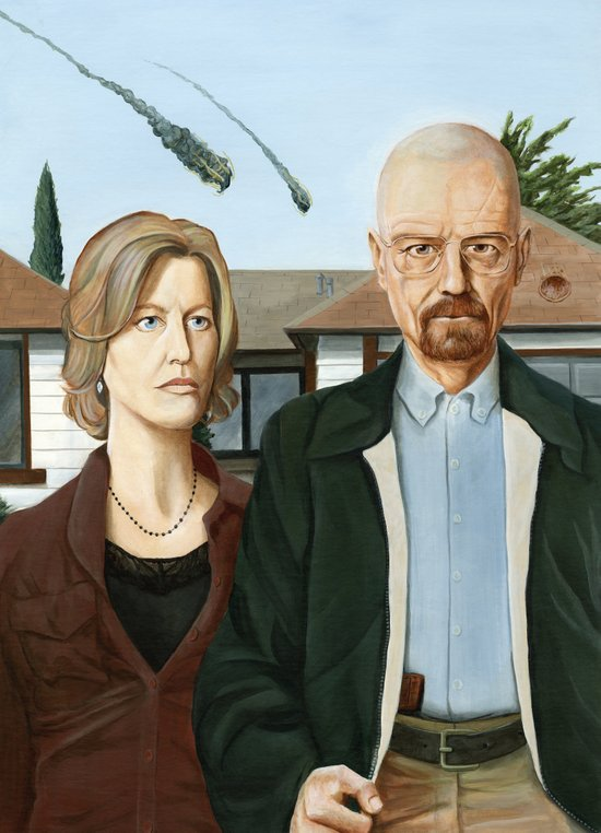 The Heisenbergs Canvas Print