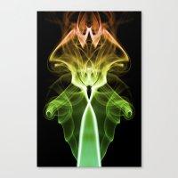 Smoke Photography #24 Canvas Print