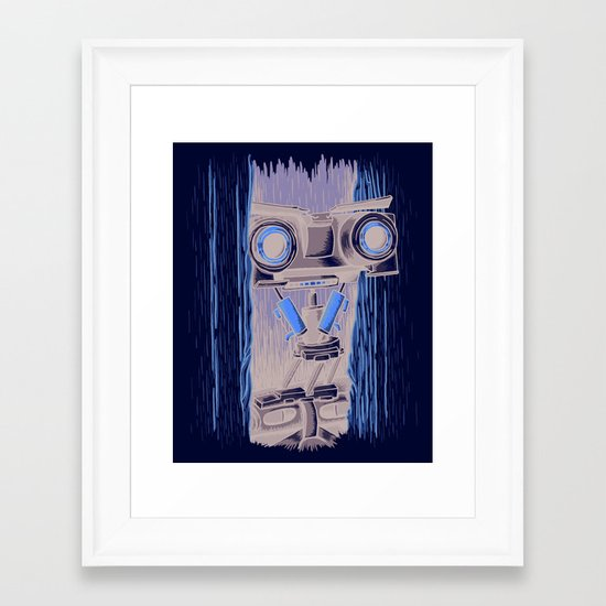 Here's Johnny 5! Framed Art Print