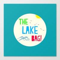 The Lake Bag! Canvas Print