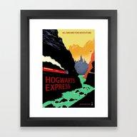 The Express Framed Art Print