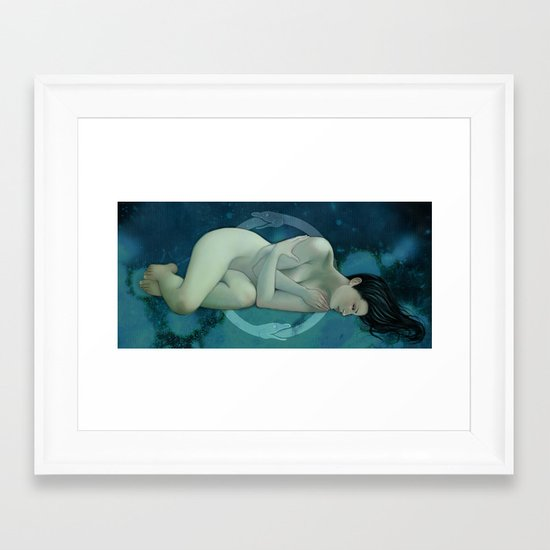 The Endless Cycle Framed Art Print