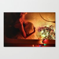Drown In Lights Canvas Print