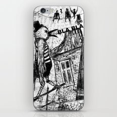 bla,bla,bla iPhone & iPod Skin