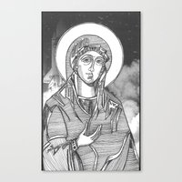 Madonna of the Launches Canvas Print