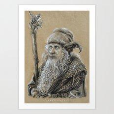 Radagast Art Print