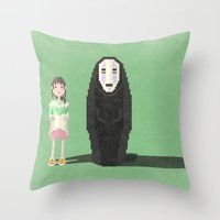 Spirited Away Throw Pillow