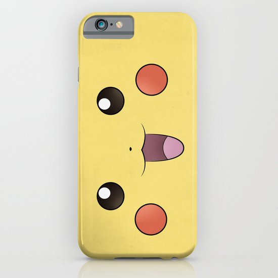 Pikachu - Minimal Pokemon Poster iPhone & iPod Case