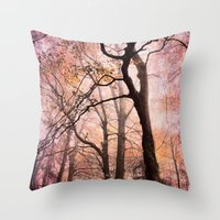 fairytale forest Throw Pillow