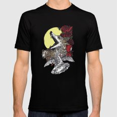 Grimm Black Mens Fitted Tee SMALL
