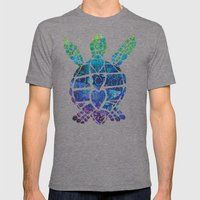 Turtle Island Mens Fitted Tee Tri-Grey SMALL