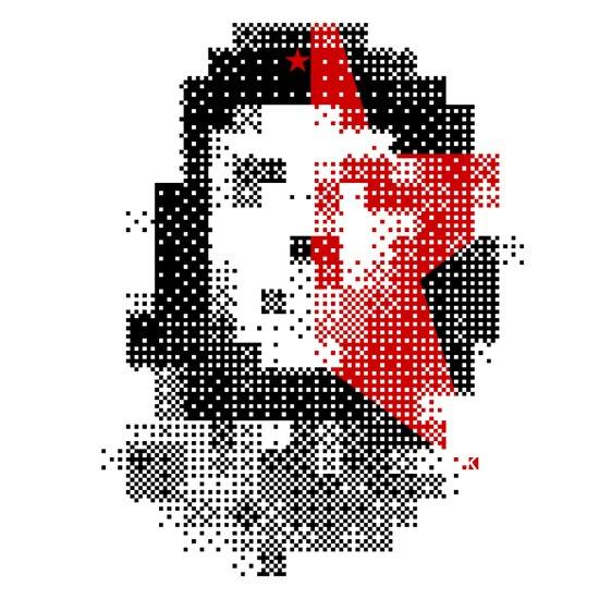 """Che"" visual Art Print"