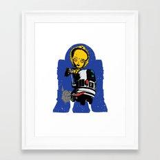 Lil' Blue Framed Art Print