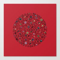 Ring Around The Roses Canvas Print