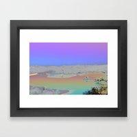 Chromascape 3: Cyprus Framed Art Print