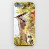 iPhone & iPod Case featuring Old Farmer House in Hungary by Vargamari