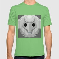 Cyberman - Doctor Who Mens Fitted Tee Grass SMALL