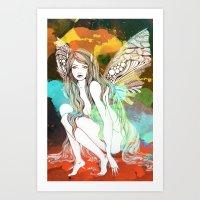 Flight revamped Art Print