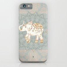 INDIAN SUMMER ELEPHANT by Monika Strigel iPhone 6 Slim Case