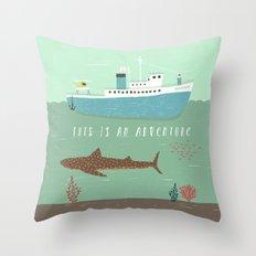 The Belafonte Throw Pillow