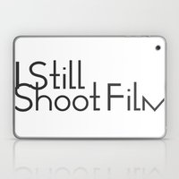 I Still Shoot Film - 1line Laptop & iPad Skin
