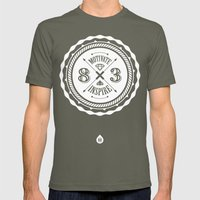 Motivate & Inspire (Whit… Mens Fitted Tee Lieutenant SMALL