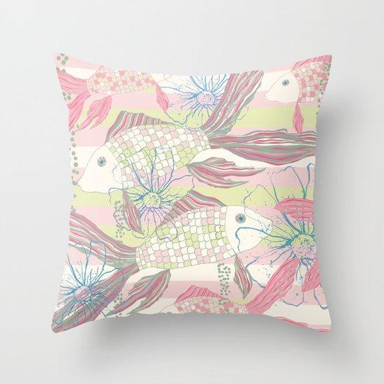 Under the sea2 Throw Pillow