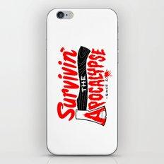 Survivin' iPhone & iPod Skin