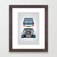 Outline Series N.º7, MG… Framed Art Print