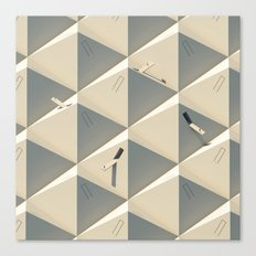 Urbana Solitude Canvas Print