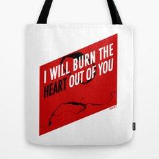 SHERLOCK Moriarty Print Tote Bag