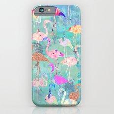 Flamingo Party  Slim Case iPhone 6s