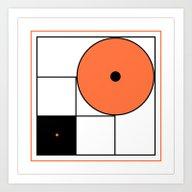 Abstract Composition B&O Art Print