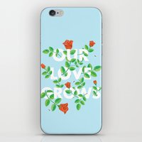 Our Love Grows iPhone & iPod Skin