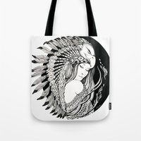 A Dream Of Feathers Tote Bag