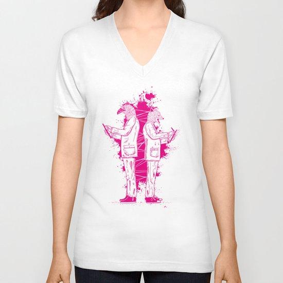 Artwork No.5 V-neck T-shirt