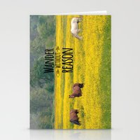 Wander Without Reason Stationery Cards