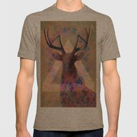 Wild Side  Mens Fitted Tee Tri-Coffee SMALL